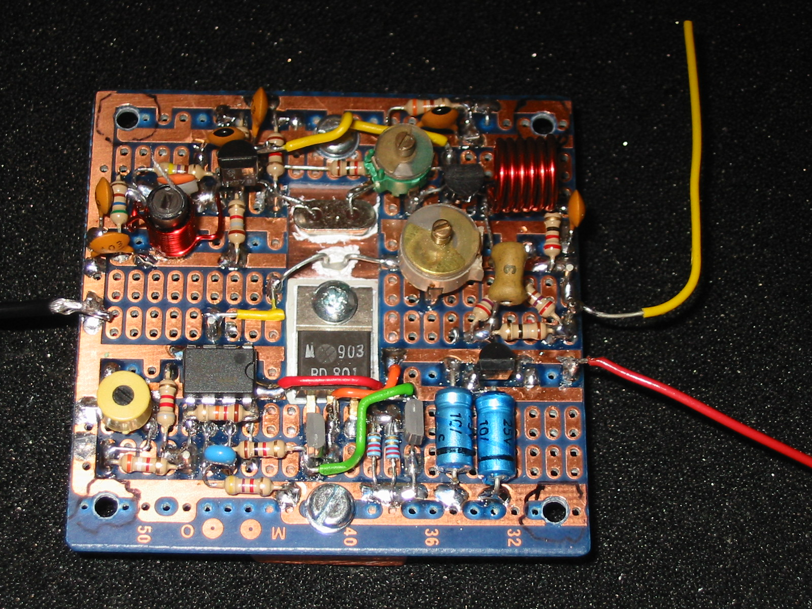 Marwyn And Johns Home Pages 288mhz Tcxo Schematic Diagram Finished Oscillator