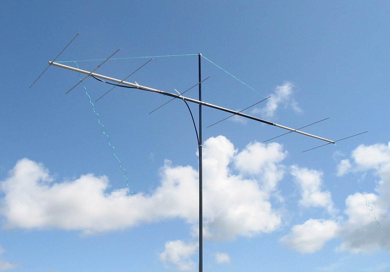 Home brew 2m SSB antenna for hill top contest Radio Wire